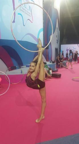 Gabriela Trnková - moderní gymnastika - Mistrovství Evropy 2016